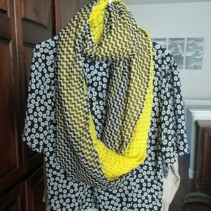 Cowl Infinity 2 toned Scarf